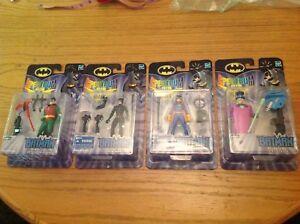 Batman Spectrum Of The Bat Lot 4 Figurines Toute Nouvelle Usine Scellée.   Fille chauve-souris