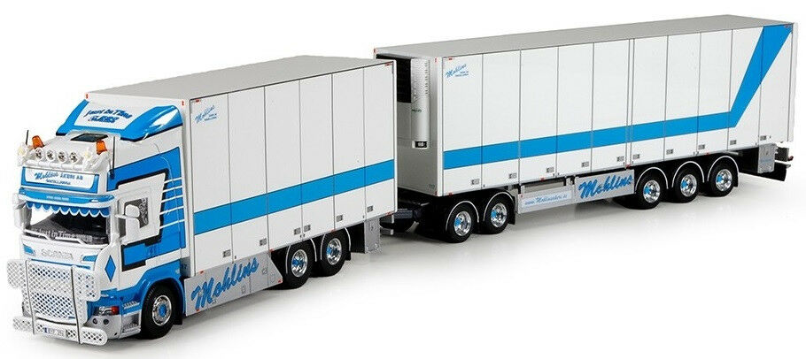TEK70500 - Camion porteur frigo SCANIA R Streamline Topline avec remorque frigo