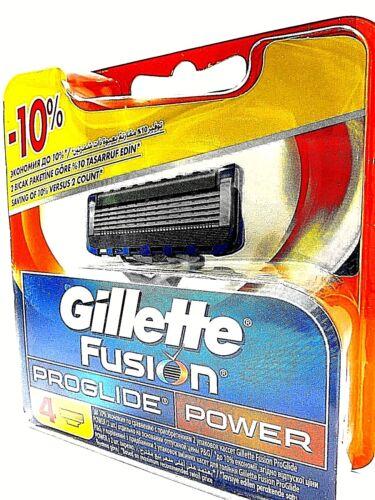 Ersatzklingen inOVP u Original 4 Gillette Fusion Proglide Power Rasierklingen