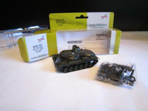 H0 Herpa Minitanks 741125 tanques m60 a2 de la US Army nuevo embalaje original