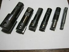 Lot Of 6 Valenite Vm Series Indexable Insert End Milling Cutters 12 To 15