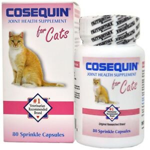 cosequin for cats 80 capsules ebay. Black Bedroom Furniture Sets. Home Design Ideas