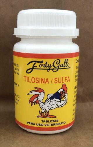 anti Diarrea//Coccidia TILOSINA FORTY GALLO for Gamefowl Diarrhea and Coccidia