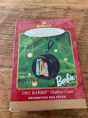 "Hallmark Keepsake Barbie Ornament  /""1961 BARBIE Hatbox Case/"""