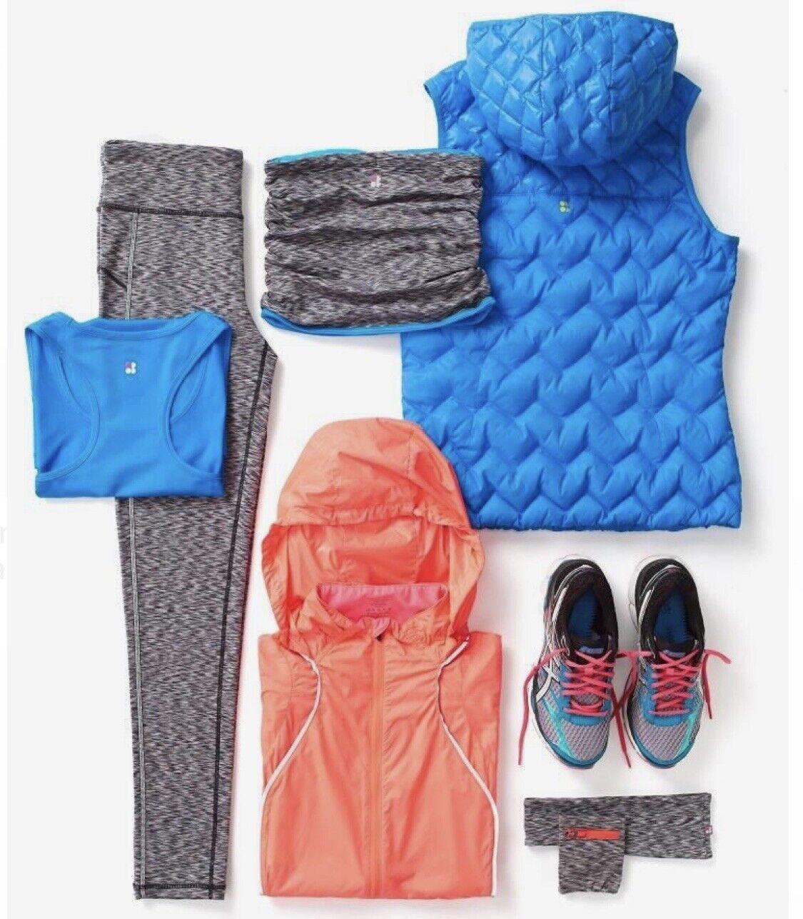 Sweaty Betty  bluee Orbital Gilet Body Warmer Size M  save up to 50%