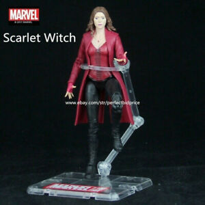 New-Scarlet-Witch-Marvel-Avengers-Legends-Comic-Heroes-Action-Figure-In-Stock