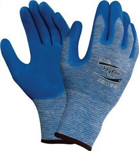 Initiative Gants En388 Kat. Ii Hyflex 11-920 Taille 8 Nylon Avec Polyacrylonitrile Bleu, 12 Paire-afficher Le Titre D'origine