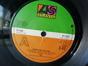 YES-034-GOING-FOR-THE-ONE-034-1977-7-034-VINYL-SINGLE-IRECORD-PLAY-TESTED