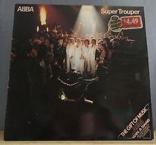 ABBA Super Trouper 1980 UK  vinyl LP + INNER EXCELLENT CONDITION  E