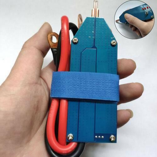 Portable Mini DIY 18650 Battery Spot Welder 4V-12V Full Set With Line