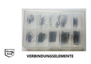 Zylinderstift Sortiment//Set DIN 7 250 Teile EDELSTAHL A1 Ø 1,5