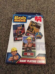 Brillant Neuf Bob Le Bricoleur Giant Playing Cards-afficher Le Titre D'origine Facile à Utiliser