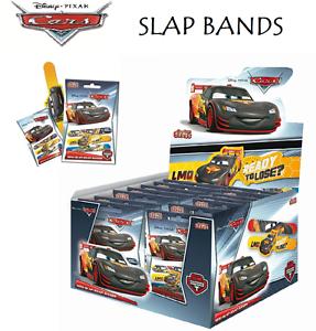 DISNEY CARS SLAP BAND Slap Wrist Bands Kids Christmas Gift Stocking Filler Toy