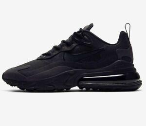 Details about ⚫ 2020 Genuine Nike Air Max 270 REACT ® ( Men Sizes UK: 7 -  13 ) Triple Black