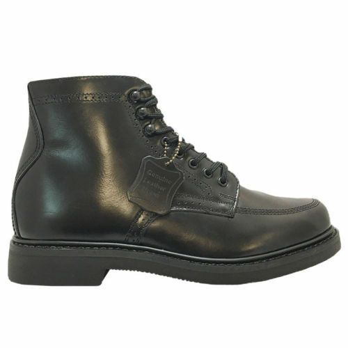 Mens Rubicon Genuine Leather Work Boots Black SIZE WIDE Oil Resistant CHOOSE SIZE Black NEW 6da25e