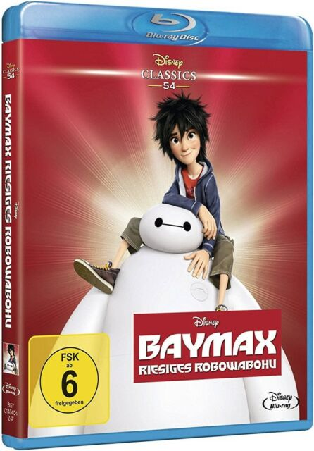 Blu-ray Walt Disney BAYMAX - RIESIGES ROBOWABOHU # (Disney Classics) ++NEU