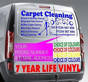 40034x15034 Carpet Cleaning BLUE Vehicle Sticker Sign Writing Vinyl Graphics Decal - Crawley, United Kingdom - 40034x15034 Carpet Cleaning BLUE Vehicle Sticker Sign Writing Vinyl Graphics Decal - Crawley, United Kingdom