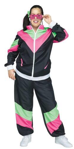 Rockin/' 80/'s Track Suit Adult Female Costume