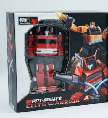 Transformers PAPA MP Small Scale Mini Toy PPT PA-02 Fire Extinguisher in stock