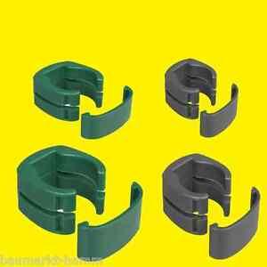 FIX CLIP PRO Schelle grün o anthrazit für Zaunpfosten o Tor ...