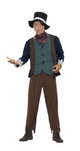 SMIFFYS POOR VICTORIAN MAN COSTUME FANCY DRESS LARGE