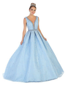 f173f5535 SALE ! BEAUTY & THE BEAST WEDDING MILITARY BALL GOWN QUINCEANERA ...