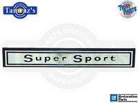 66 Chevelle  Super Sport  Dash Panel Emblem - Usa
