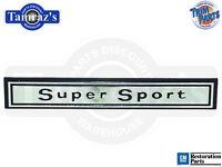 66 Chevelle  Super Sport  Dash Panel Emblem - Usa