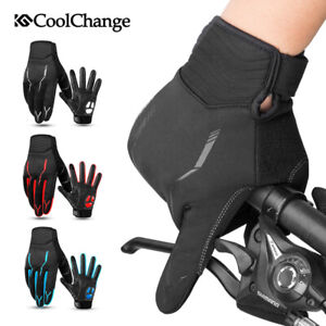 Winter Cycling Gloves Racing Riding Full Finger Bike Gloves Thermal Windproof