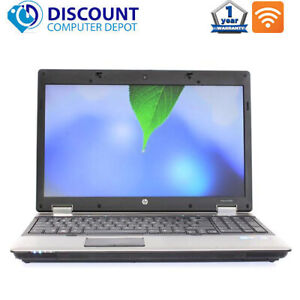 "HP ProBook Laptop 6545b 15.6"" AMD Dual Core 4GB 128GB SSD DVD Wifi Windows 10"