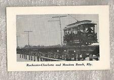 Rochester - Charlotte and Manitou Beach Railway #800, Auto Museum Bridgewater NY