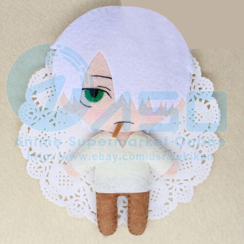 Anime Mushishi Bugmaster Ginko DIY handmade Toy Keychain bag hanging Plush Doll