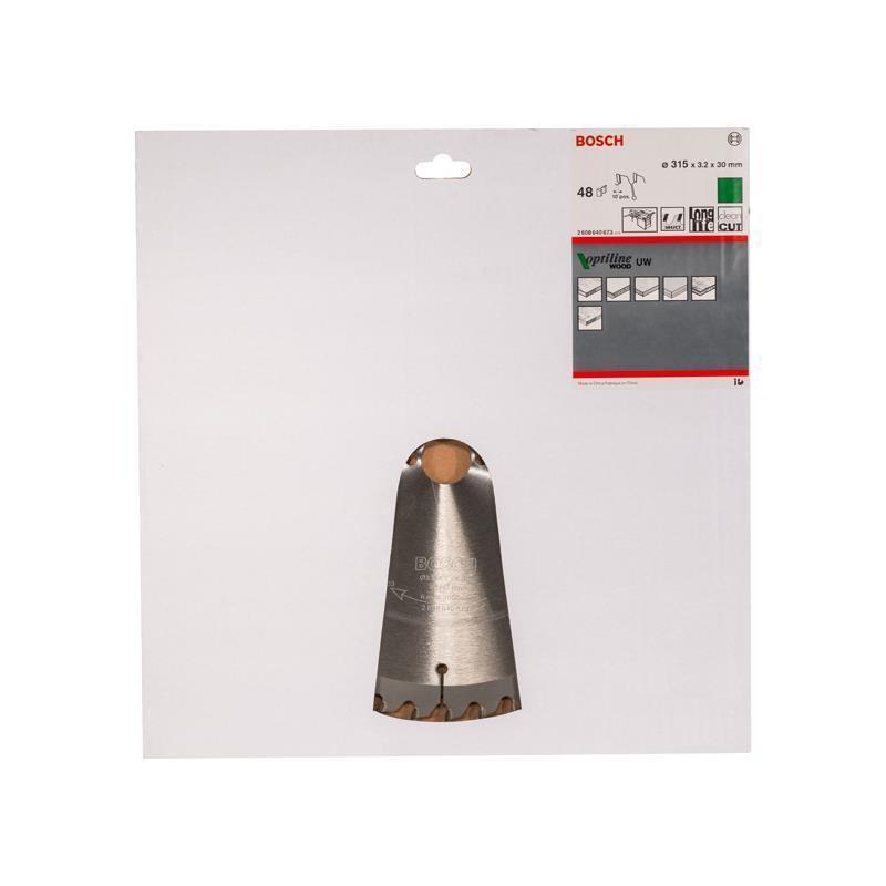 Bosch HM Sägeblatt Optiline Wood 315x3,2x30 mm Z=48 UW