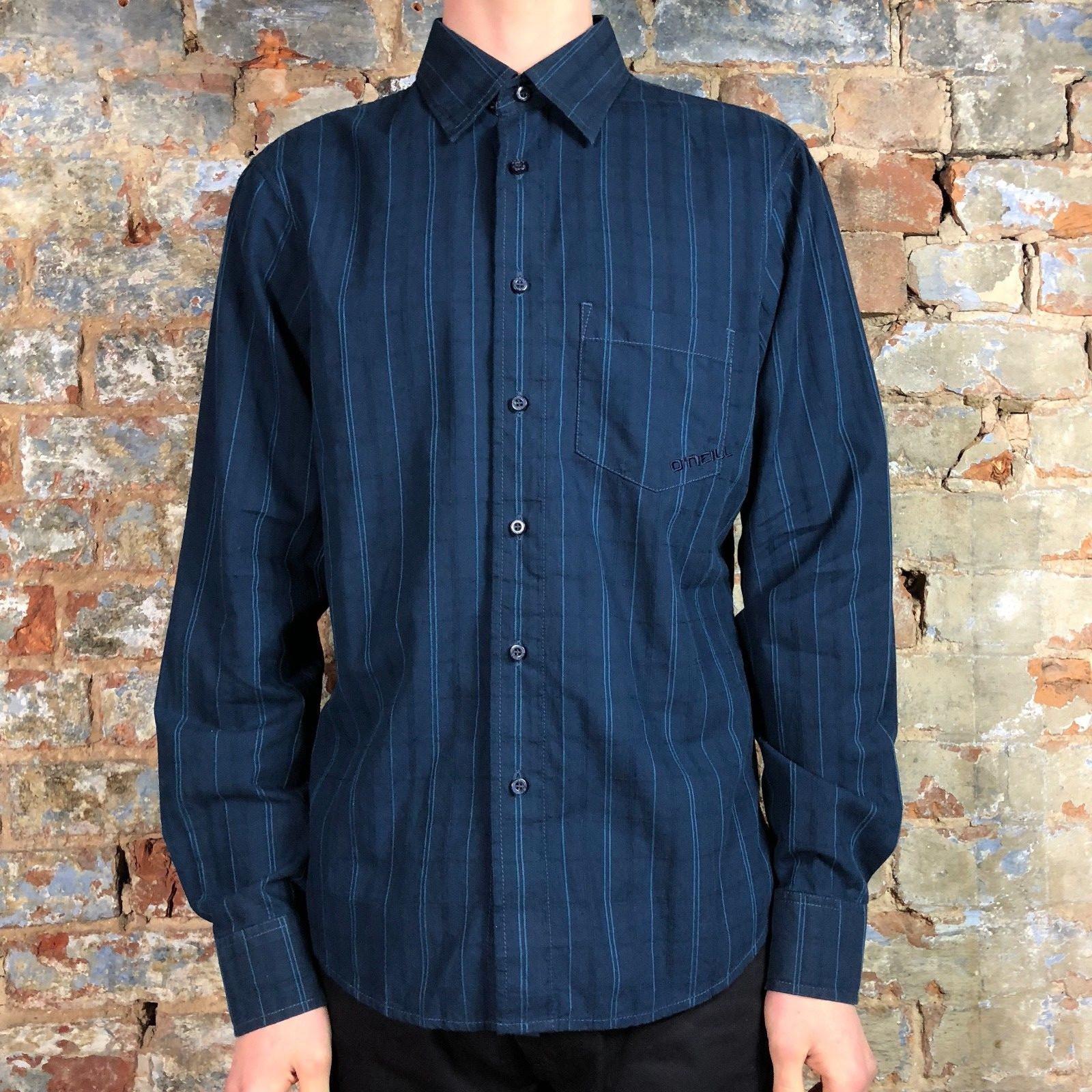 O'neill Casual Stripe Long Sleeve Shirt New - bluee - Size  S