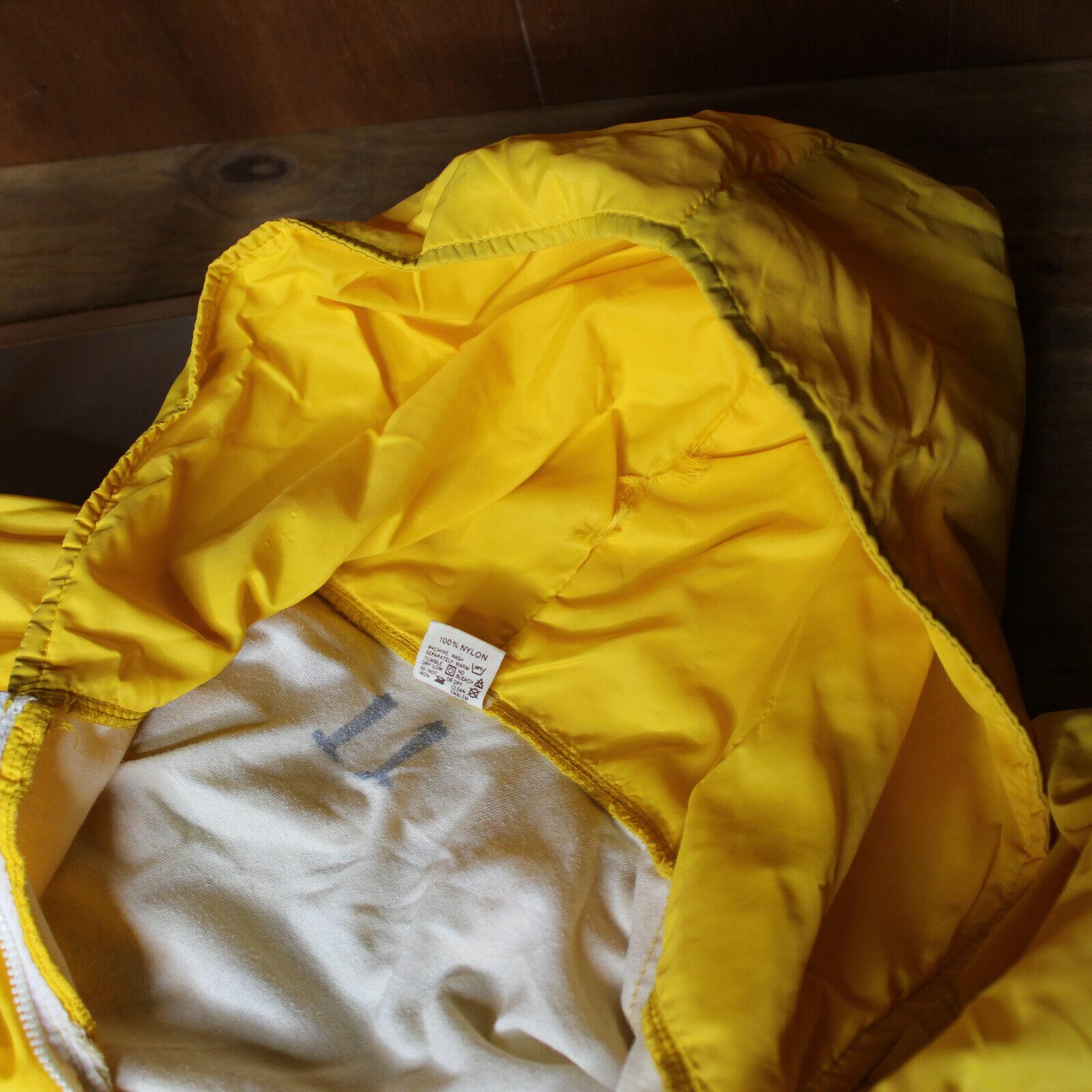 VTG 70s Russell Zip Hooded Jacket Medium School C… - image 5