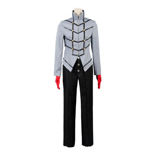 Persona 5 Joker Protagonist Cosplay Costume Uniform Outfit Halloween Suit Coat