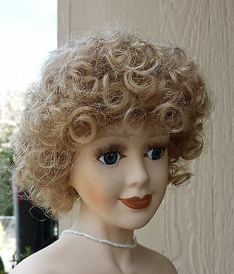 "Doll Wig - W802 Abundance of tight curls - size 5""(head): CHOICE of color."