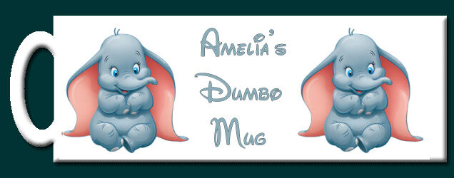 Personalised Disney Dumbo Mug -  Perfect gift