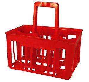 Cestello cesta portabottiglie porta bottiglie acqua vino 6 posti sss ebay - Cantinetta vini ikea ...