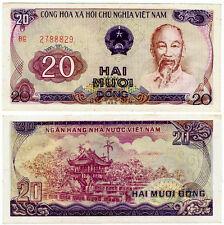 Vietnam. Pick 94a. 20 Dong (1985). UNC. Ho Chi Minh.