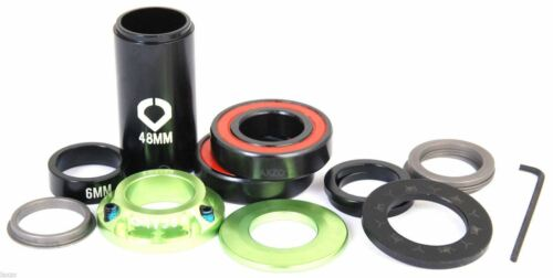 Vocal BMX Vice DRS Spanish Bottom Bracket Set Green Sealed for 19mm Axle