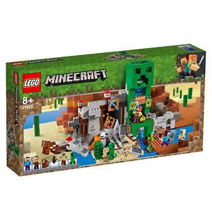 21155-Lego-Minecraft-le-Creeper-mine-suilding-Set-avec-Steve-834-PIECES-8-Ans