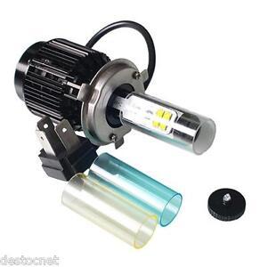 pack kit de conversion ampoule led h4 moto scooter voiture camion quad h4 ebay. Black Bedroom Furniture Sets. Home Design Ideas