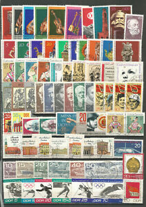 DDR-1971-gestempelt-kompletter-Jahrgang-gute-Stempel