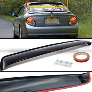 For 00 03 Nissan Maxima Rear Window Roof Sun Rain Shade Vent Visor Spoiler Ebay