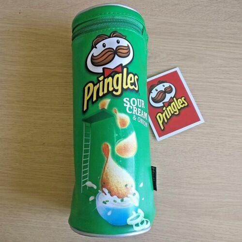 Sour Cream /& Onion Salt /& Vinegar Original NEW PRINGLES PENCIL CASE Helix