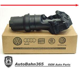 Details about New Genuine OEM VW Oil Filter Housing 2 5 Jetta Beetle Rabbit  Golf 2006-2010 MK5