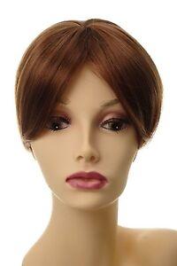 Toupet-Haarteil-Haarersatz-Aufsatz-Haarauffueller-Clip-In-Kupfer-Braun-L008-30