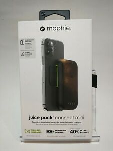 Mophie Juice Pack Connect Mini detachable battery wireless charge w/stand 3k mAh