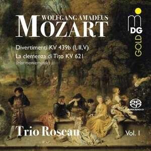 Trio-Roseau-spielt-Mozart-Divertimenti-KV439-und-034-La-Clemenza-di-Tito-034